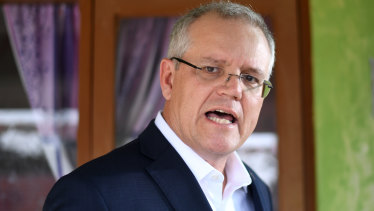 Australian Prime Minister Scott Morrison in Indonesia on Friday.
