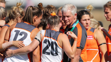 The Giants are relocating to Albury ahead of round one of the AFLW season.