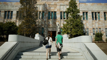 The University of Queensland investigation into the cheating allegations is ongoing.