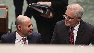 Treasurer Josh Frydenberg and Prime Minister Scott Morrison will share ownership of the budget, for better or worse.