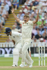 Both sides of the ball: Sam Curran  was brilliant with the bat and solid while bowling.