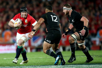 The Lions will play three Tests against the Springboks beginning July 24 next year.