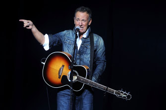 Bruce Springsteen returned to the Broadway stage last month.