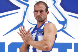 North Melbourne's Ben Cunnington will be assessed for concussion.