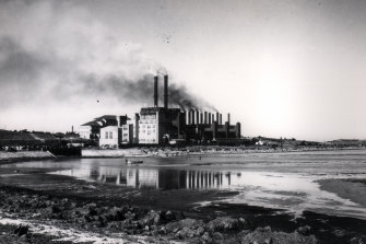 White Bay Power Station in the last century.