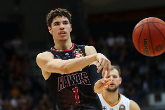 Import and NBA hopeful LaMelo Ball made a splash in the NBL with Illawarra.