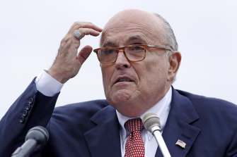 Ukraine's President said he wanted Rudy . Giuliani to travel to Ukraine.