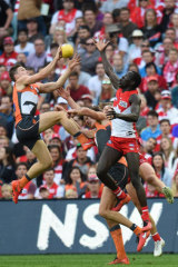 Toby Greene was cleared over this incident.