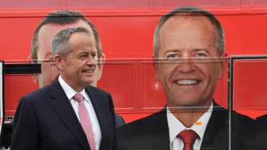 Opposition Leader Bill Shorten is under pressure as he goes into the debate.
