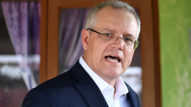 Australian Prime Minister Scott Morrison in Indonesia on Friday.