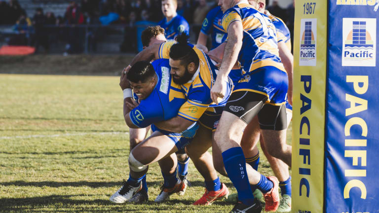 Warriors Destiny Kalolo, and Woden Valley Rams Junior Moala.