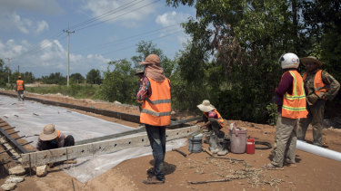 In Sihanoukville, a once-sleepy resort town, Cambodians are betting that an infusion of Chinese-built Belt and Road infrastructure will pay off with jobs and prosperity.