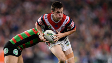 Stepping up: Luke Keary will have big shoes to fill in the NRL grand final.