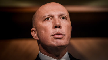 """Home Affairs Minister Peter Dutton said there was an """"unacceptable risk of harm to the Australian community"""" if David Degning remained in the country."""