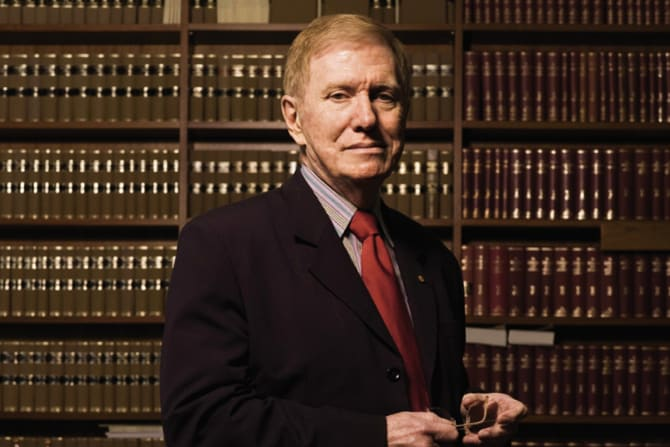 Justice Michael Kirby.