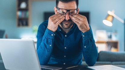 There's a specific kind of stress caused by your brain on a screen