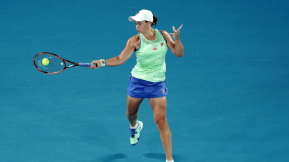 Barty marches into Open second round