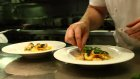 Skilled chefs are in short supply, supposedly because of Australia's closed borders.