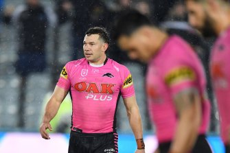 Brent Naden was subjected to alleged racial abuse in Friday's game.