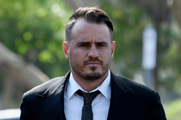 Josh Reynolds was charged in December after the Wests Tigers star allegedly bruised his former partner.