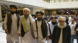 Mullah Abdul Ghani Baradar, the Taliban group's top political leader.