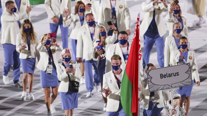 Belarus officials stripped of accreditation, ejected from the Games