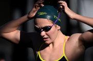 Rising Australian swimming star Ariarne Titmus.