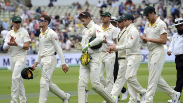 """Captain Tim Paine has said Australia's Ashes-retaining team is far from the finished article and """"have a way to go""""."""