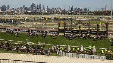 Home of the Melbourne Cup, the Flemington racecourse.
