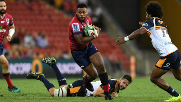Stalwart: Samu Kerevi has been a force for the Reds since 2014.