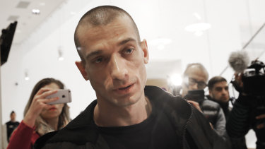Russian performance artist Pyotr Pavlensky plans to embarrass more politicians in the country giving him asylum.