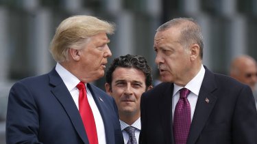 US President Donald Trump and Turkish President Recep Tayyip Erdogan had been close allies until now.