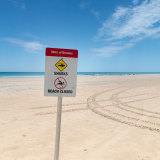 Cable Beach has been closed following the incident.