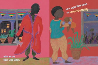 Maxine Beneba Clarke says her book had to show reality but still be OK for a child to read.