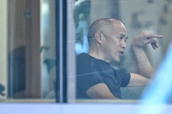 Charlie Teo pictured in Rosebery this week.