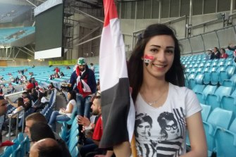 """Nibal ElBshara: """"I'm often asked what the best thing is about Australia and my answer is always the same: acceptance."""""""