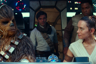 Star Wars: The Rise of Skywalker has opened strongly, although it hasn't attracted the same audience as its predecessor.