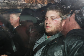 Jaymes Todd after his arrest.