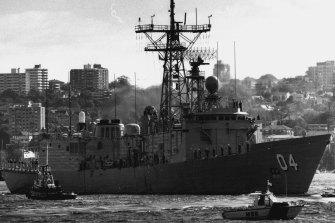 Australian ships leaving Australia for the Gulf.