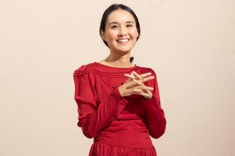 Author Alice Pung.