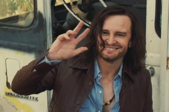 Peace, man: Damon Herriman in Once Upon a Time ... in Hollywood.