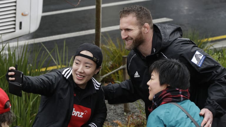 Comeback: All Blacks skipper Kieren Read switches focus from Super Rugby glory to the Wallabies.