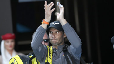 Diplomatic: Rafael Nadal refused to be drawn deep on the debate over equal prizemoney for male and female players.