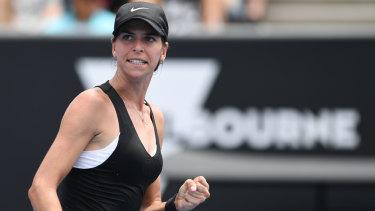 Ajla Tomljanovic fell to Johanna Konta in three sets.