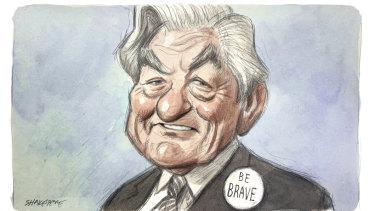 A national hero, for many reasons. Illustration: John Shakespeare