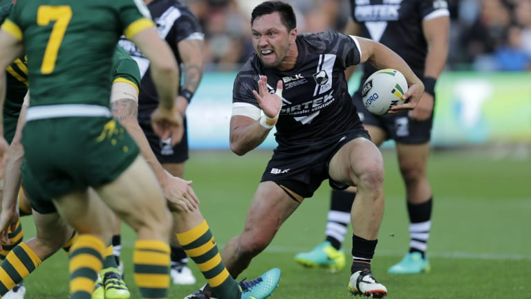 Kiwis winger Jordan Rapana is confident him and Joseph Manu can handle Val Holmes and Latrell Mitchell.