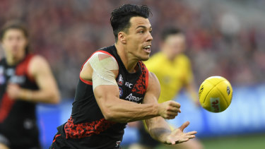 Unlikely to be tagged by the Dockers: Dylan Shiel.