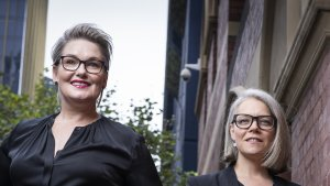 Cyber security is a broad business issue, not just one that can be left with the IT department, say Anna Leibel (left) and Claire Pales, directors of boutique advisory firm The Secure Board.
