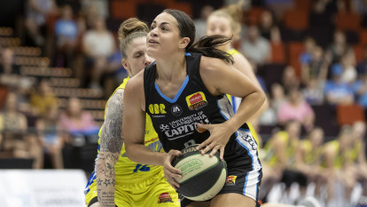 Capitals back Maddison Rocci to be 'elite' WNBL player