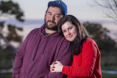 Kathryn Licata and fiance Martin are due to get married on August 29th and are preparing for a reduced wedding party due to Melbourne's lockdown restrictions.